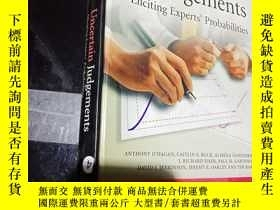 二手書博民逛書店uncertain罕見judgementsY12498
