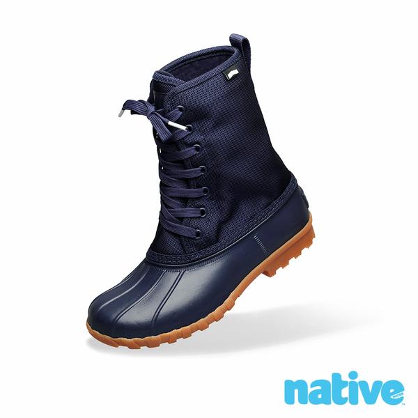 native JIMMY CITYLITE 獵鴨男/女靴-海軍藍