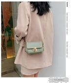 高級感洋氣小包包女新款潮時尚休閒單肩斜背包韓版錬條小方包 花樣年華