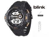 【完全計時】JAGA 捷卡 blink M1081-AK 撼動運動型多功能電子錶 低調黑 53mm