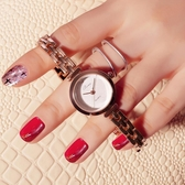 手錶手鍊錶女手錶正韓簡約女士手錶女時尚潮流女錶學生防水女生石英錶 快速出貨