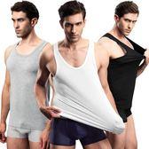 男士背心青年修身型跨欄健身運動汗衫吊帶背心白色打底衫夏  名購居家