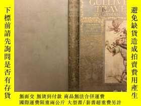 二手書博民逛書店Gulliver`s罕見Travels. : With Colo