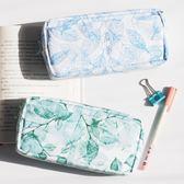 年終享好禮 小清新創意簡約鉛筆盒初中學生大容量筆袋日韓國男女孩雙層文具袋