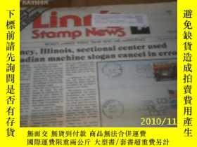 二手書博民逛書店Linn s罕見stamp News(Vol.63,ISSUE