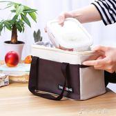 加厚帶飯手提飯盒袋尼龍水洗料防潑水便當袋早餐保溫袋消費滿一千現折一百