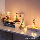 聖誕節禮物聖誕節裝飾品平安夜生日禮物玻璃罩微景觀創意小夜燈 聖誕狂歡節