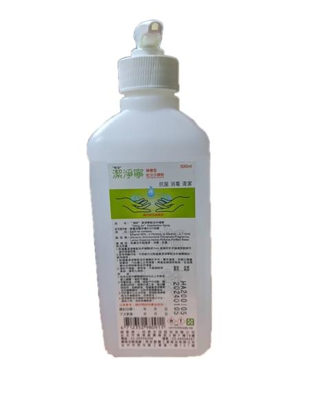 (現貨供應中) 潔淨寧乾洗手噴劑(含壓頭)檸檬香500ml *維康*