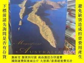 二手書博民逛書店MAGNIFICENT罕見AUSTRALIA 大約譯爲:巧奪天工