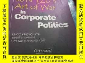 二手書博民逛書店Applying罕見SUN TZUS Art of war in the corporate politics