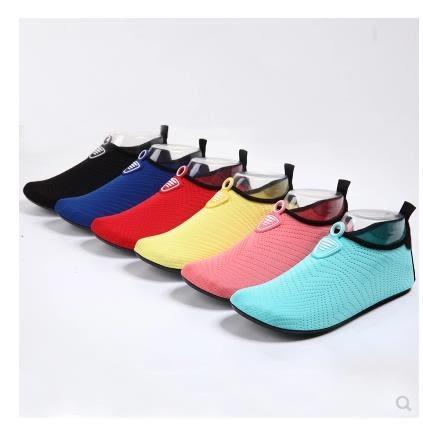 潛水浮潛沙灘鞋襪男女透氣防滑成人速乾防割軟底 黛尼時尚精品