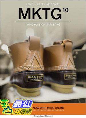 [106美國直購] 2017美國暢銷軟體 MKTG (with MKTG Online, 1 term (6 months) Printed Access Card)