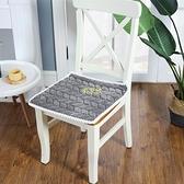 純色帶綁繫帶6色水晶絨超柔軟舒適椅子坐墊餐椅墊 【現貨快出】