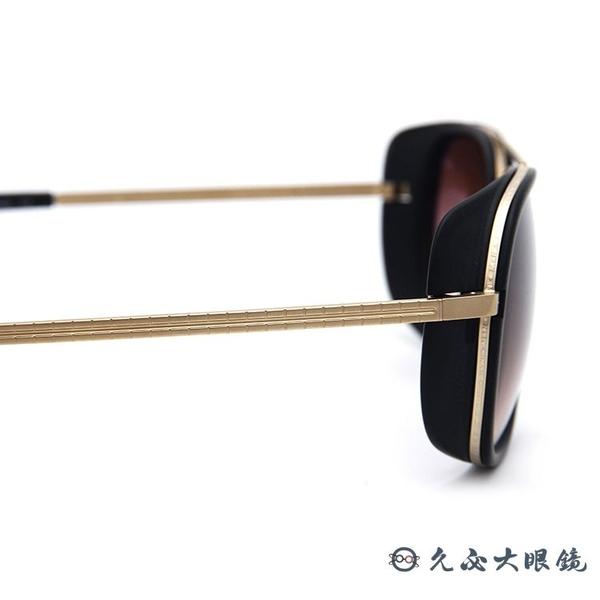 MATSUDA 鋼鐵人3 小勞勃道尼 M3023 MGP (霧黑-金) 風罩 純鈦 太陽眼鏡 久必大眼鏡