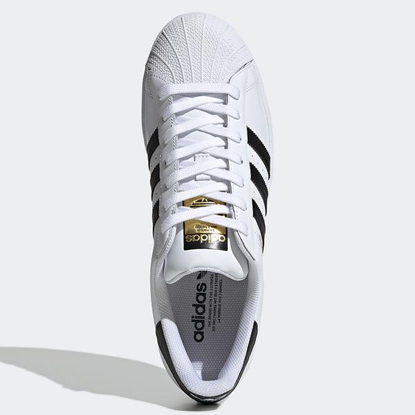 【現貨】Adidas SUPERSTAR 男鞋 女鞋 休閒 金標 皮革 貝殼頭 白【運動世界】EG4958