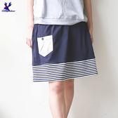 American Bluedeer -【春夏降價款】俏麗條紋短裙 春夏新款