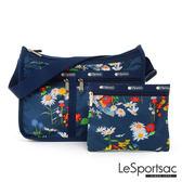 LeSportsac - Standard雙口袋A4大書包-附化妝包 (小雛菊) 7507P F171