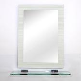 特力屋無銅鏡附平台-70x50cm-簡約條紋
