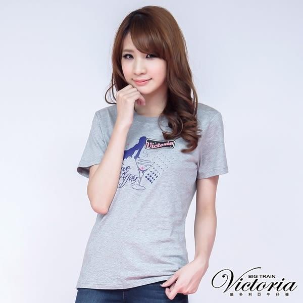 Victoria 派對女伶印花TEE-女-綠色