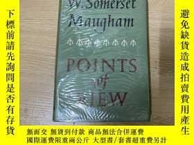 二手書博民逛書店(英國版)Points罕見of View 毛姆 讀書隨筆集《觀點》,董橋:我喜歡讀毛姆寫的