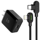 Mcdodo PD/Lightning/TypeC/iPhone充電線充電器充電頭快充頭快充線 彎頭 LED 1.2M 麥多多
