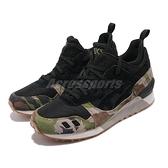 Asics 休閒鞋 Gel-Lyte MT 黑 綠 迷彩 男鞋 亞瑟士 復古 經典款 【ACS】 H8E2L9090