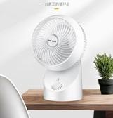 空氣循環扇家用靜音臺式風扇渦輪對流立式宿舍遙控電風扇YYJ 夢想生活家