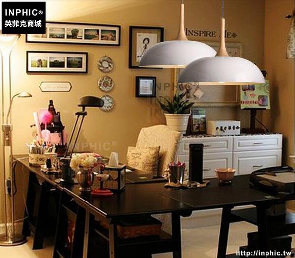 INPHIC- 北歐風格木質簡約廚房客廳燈現代餐廳咖啡館吧台火鍋店奶茶店吊燈-B款_S197C