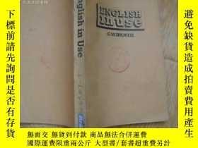 二手書博民逛書店english罕見in use(英語的使用)英文版Y10284