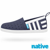 native VENICE PRINT CHILD 威尼斯懶人鞋-海軍藍水手印花(小童)