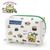 日本限定 三麗鷗 大眼蛙 壽司屋系列  收納包 / 化妝包  M