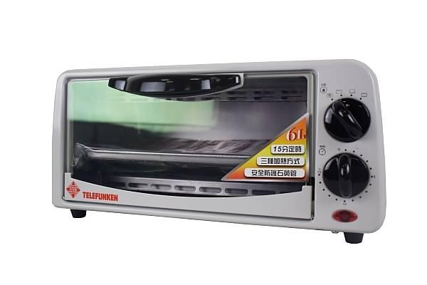 TELEFUNKEN德律風根6L電烤箱LT-OV2032