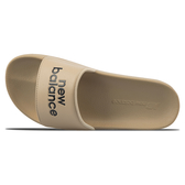 New Balance 男鞋 女鞋 拖鞋 休閒 韓版 輕量 NB字樣 卡其【運動世界】SD1101HBE