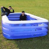 現貨超大號嬰幼兒童充氣游泳池加厚小孩海洋球池家庭用大型戲水池 igo5-26