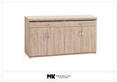 【MK億騰傢俱】BS291-02北原橡木色5.3尺餐櫃下座(含石面)
