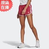 【現貨】Adidas M20 SHORT 女裝 短褲 慢跑 訓練 透氣 內襯 內裡鑰匙袋 反光 莓果粉【運動世界】GK5263