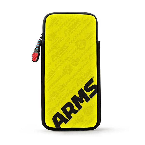 《現貨》任天堂Nintendo Switch 神臂鬥士 ARMS 特仕款 軟質主機收納包  PLAY-小無電玩