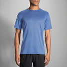 BROOKS (男) 專利快乾 輕量 吸濕 排汗 短袖 T恤 BK211056429 (藍)[陽光樂活]