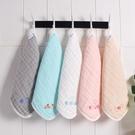嬰兒刺繡口水巾六層純棉紗布方巾