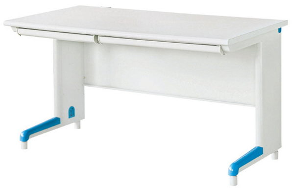 【IS空間美學】寬140公分電腦辦公桌(附二只抽屜/不含插座)