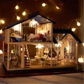 音樂盒八音盒圣誕節手工diy小屋房子生日禮物送女友【英賽德3C數碼館】