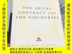 二手書博民逛書店The罕見Social Contract and The Dis