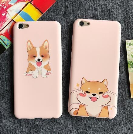 【SZ14】OPPO R11手機殼 粉色柴犬 軟殼 R9s plus手機殼 R9/R9plus手機殼 R9s保護套