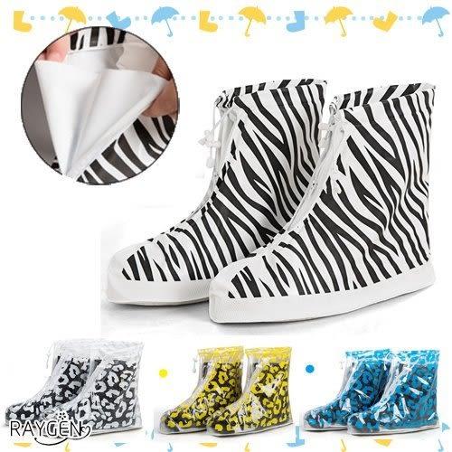 防雨鞋套 時尚女 加厚耐磨 鞋套 雨天戶外 旅遊防滑 防水 中筒 鞋套