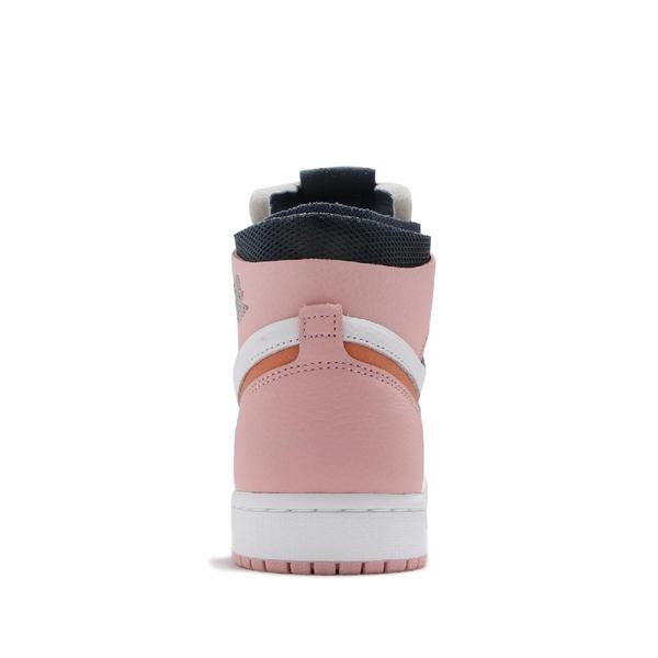 Nike 籃球鞋 Wmns Air Jordan 1 Zoom Air CMFT Pink Glaze 白 粉紅 女鞋 AJ1 【ACS】 CT0979-601