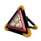 超亮三角警示LED探照燈 警示燈 充電式 手提燈 照明燈 投射燈 手電筒 工作燈
