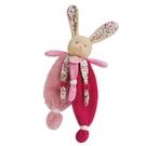 GMPBABY 法國娃娃Doudou碎花粉粉兔安撫布偶(29cm)