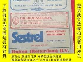 二手書博民逛書店BROWN罕見S NAUTICAL ALMANAC 【1982】