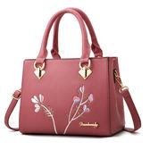 側背包/斜背包-現貨販售-優質新款時尚刺繡手提包 -0503百花齊放-寶來小舖