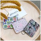零錢包-迪士尼系列滿版人物圖案票卡零錢包-共3色-A09090211-天藍小舖